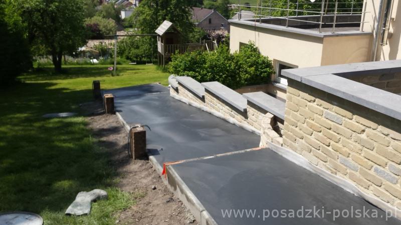 Posadzka betonowa na taras
