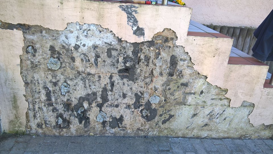 Kamienny dywan schody